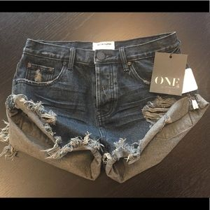 Free People One Teaspoon Shorts with tags